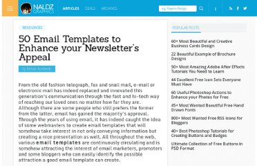http://naldzgraphics.net/resources/50-email-templates-to-enhance-your-newsletters-appeal/
