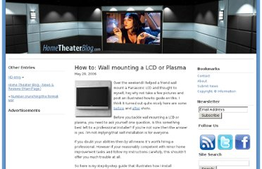 http://www.hometheaterblog.com/hometheater/2006/05/how-to-wall-mounting-a-lcd-or-plasma/