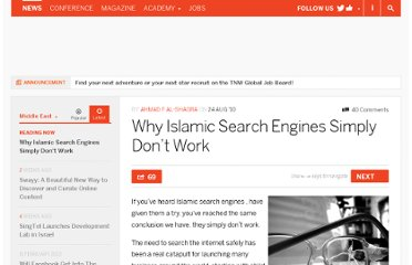 http://thenextweb.com/me/2010/08/24/why-islamic-search-engines-simply-dont-work/