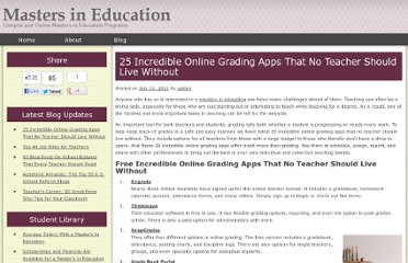 http://www.mastersineducation.com/25-incredible-online-grading-apps-that-no-teacher-should-live-without/