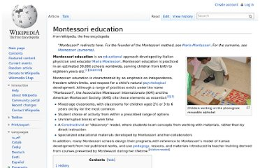 http://en.wikipedia.org/wiki/Montessori_education