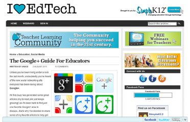 http://blog.simplek12.com/social-media/google-plus-for-educators/