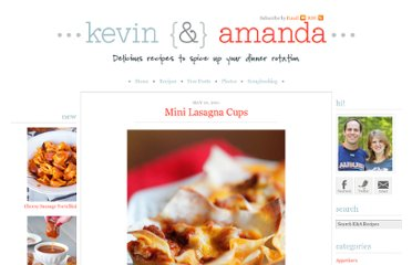 http://www.kevinandamanda.com/recipes/dinner/mini-lasagna-cups.html