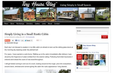 http://tinyhouseblog.com/small-house-feature/simply-living-in-a-small-rustic-cabin/#more-18433