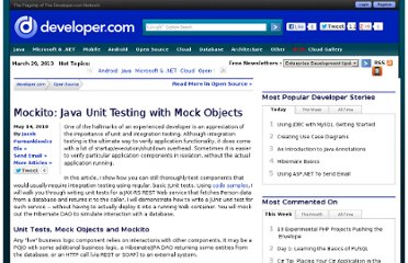 http://www.developer.com/java/other/article.php/3882311/Mockito-Java-Unit-Testing-with-Mock-Objects.htm