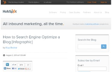 http://blog.hubspot.com/blog/tabid/6307/bid/21512/How-to-Search-Engine-Optimize-a-Blog-Infographic.aspx