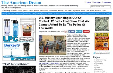 http://endoftheamericandream.com/archives/u-s-military-spending-is-out-of-control-12-facts-that-show-that-we-cannot-afford-to-be-the-police-of-the-world