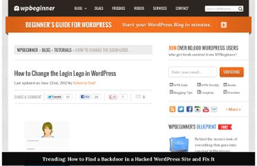 http://www.wpbeginner.com/wp-tutorials/how-to-change-the-login-logo-in-wordpress/