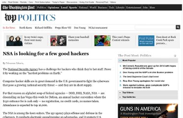 http://www.washingtonpost.com/politics/nsa-is-looking-for-a-few-good-hackers/2011/08/02/gIQAXZAbqI_story.html