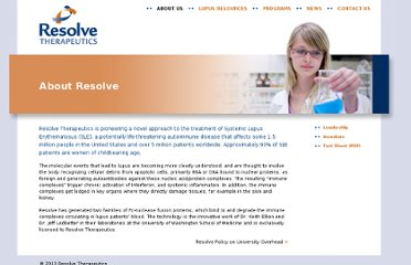 http://www.resolvebio.com/about/index.php