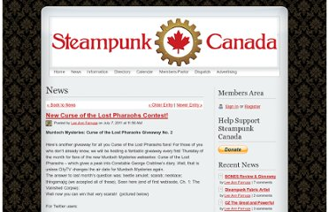 http://www.steampunkcanada.ca/apps/blog/show/7637367-new-curse-of-the-lost-pharaohs-contest-