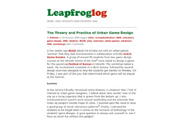 http://leapfrog.nl/blog/archives/2009/01/23/the-theory-and-practice-of-urban-game-design/