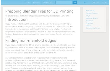 http://www.shapeways.com/tutorials/prepping_blender_files_for_3d_printing