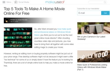 http://www.makeuseof.com/tag/top-5-tools-to-make-a-home-movie-online-for-free/