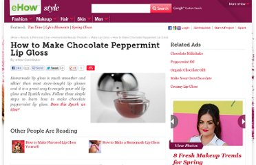 http://www.ehow.com/how_5176644_make-chocolate-peppermint-lip-gloss.html