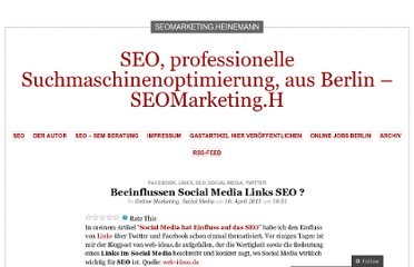 http://larsheinemann.wordpress.com/2011/04/16/beeinflussen-social-media-links-seo/