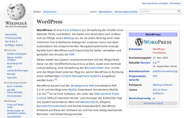 http://de.wikipedia.org/wiki/WordPress