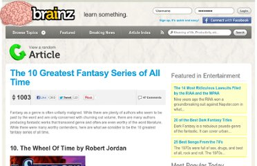 http://brainz.org/the-10-greatest-fantasy-series-all-time/