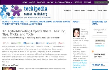 http://www.techipedia.com/2011/digital-marketing-tips-tools/