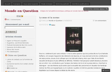 http://mondeenquestion.wordpress.com/2011/08/04/le-sexe-et-la-norme/