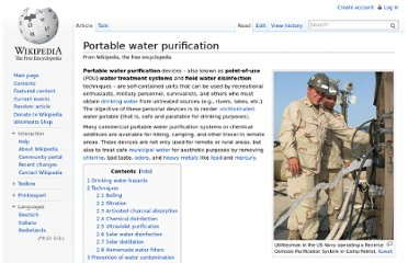 http://en.wikipedia.org/wiki/Portable_water_purification