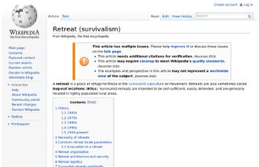 http://en.wikipedia.org/wiki/Retreat_(survivalism)