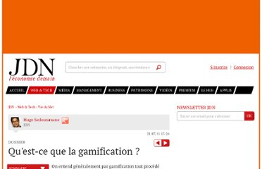 http://www.journaldunet.com/ebusiness/le-net/gamification/definition-gamification.shtml