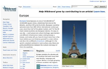 http://wikitravel.org/en/Europe