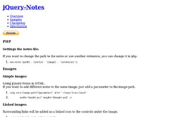 http://jquery-notes.rydygel.de/samples.php