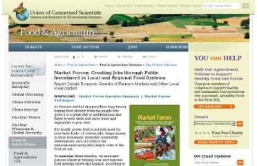 http://www.ucsusa.org/food_and_agriculture/solutions/big_picture_solutions/market-forces.html
