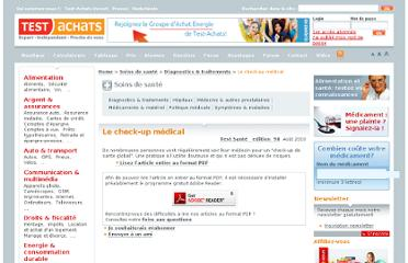 http://www.test-achats.be/diagnostics-et-traitements/le-check-up-medical-s654883.htm