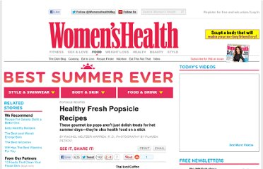 http://www.womenshealthmag.com/nutrition/popsicle-recipes
