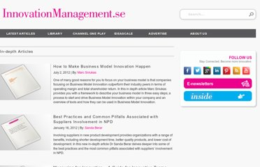 http://www.innovationmanagement.se/category/in-depth-articles/
