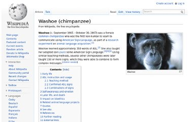 http://en.wikipedia.org/wiki/Washoe_(chimpanzee)#Early_life
