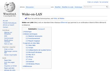 http://fr.wikipedia.org/wiki/Wake-on-LAN