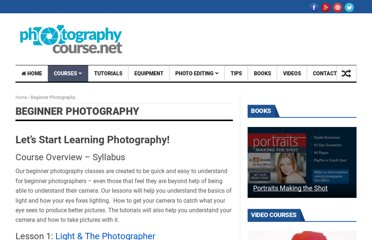 http://photographycourse.net/beginner-photography