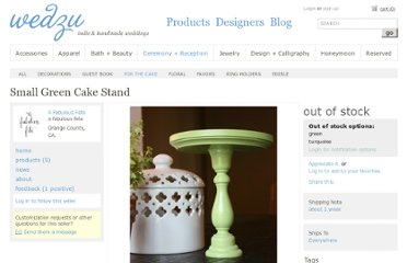 http://wedzu.com/products/small-green-cake-stand