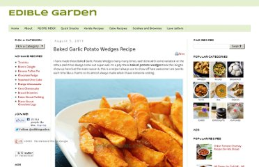 http://www.cookingandme.com/2011/08/baked-garlic-potato-wedges-recipe.html