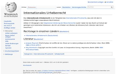 http://de.wikipedia.org/wiki/Internationales_Urheberrecht