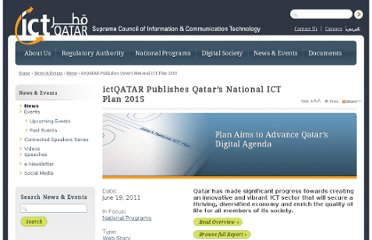 http://www.ictqatar.qa/en/news-events/news/ictqatar-publishes-qatar-s-national-ict-plan-2015