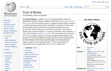 http://en.wikipedia.org/wiki/Club_of_Rome
