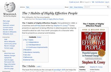 http://en.wikipedia.org/wiki/The_Seven_Habits_of_Highly_Effective_People