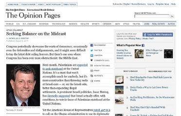 http://www.nytimes.com/2011/08/04/opinion/seeking-balance-on-the-mideast.html?_r=3