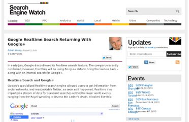 http://searchenginewatch.com/article/2099637/Google-Realtime-Search-Returning-With-Google
