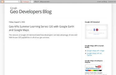 http://googlegeodevelopers.blogspot.com/2011/08/geo-apis-summer-learning-series-gis.html