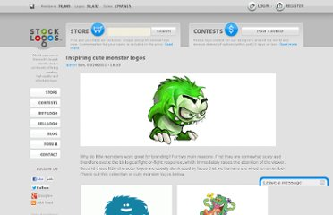 http://stocklogos.com/topic/inspiring-cute-monster-logos