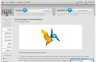 http://stocklogos.com/topic/cool-examples-animal-logos
