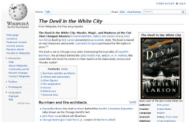 http://en.wikipedia.org/wiki/The_Devil_in_the_White_City