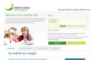 http://network.nationalcollege.org.uk/groups/20507