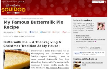 http://www.squidoo.com/buttermilk-pie-recipe